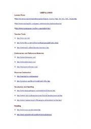 English Worksheets: useful website