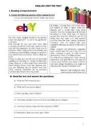 English teaching worksheets: 9th grade