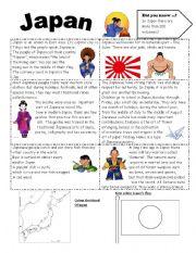 English Worksheet: Japan