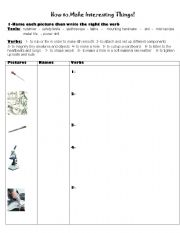 English Worksheets: Different Devices