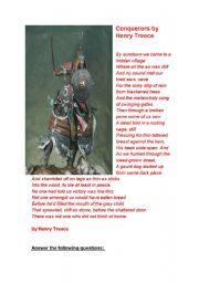 English Worksheets: Conquerors