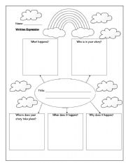 Reading worksheets > Tales and stories > Story map