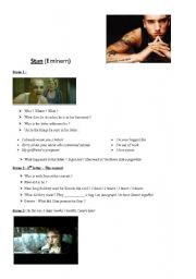 English Worksheets: Stan - Eminem