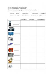 Computer Technology Lessons with Five Worksheets for 3rd Graders