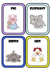English Worksheets: Animals * Part 2