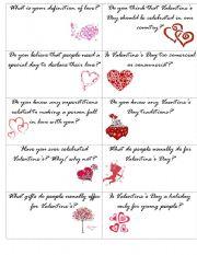 Valentine´s speaking cards