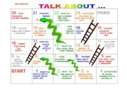 Snakes and ladders nº 4 ( teens and young adults )