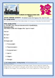 English Worksheet: LONDON OLYMPIC GAMES 2012