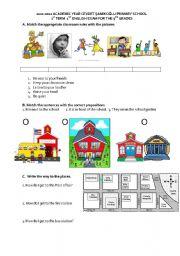 5th grade 1st term 2nd exam