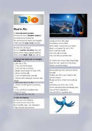 Rio ( the movie)