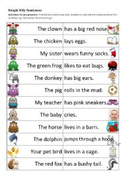 Silly Sentences. My piano students love this game where you read a ...