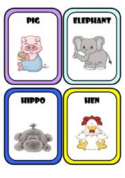 English Worksheets: Animals * Part 2 *