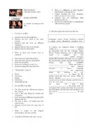 English Worksheets: The Holiday