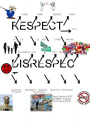 English Worksheets: Respect