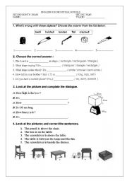 English Worksheet: Technical English: ENGLISH FOR INDUSTRIAL SCHOOLS