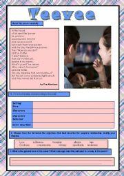 English Worksheets: Teevee
