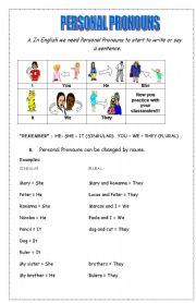 personal pronouns verb to be exercises esl worksheet by genial. Black Bedroom Furniture Sets. Home Design Ideas