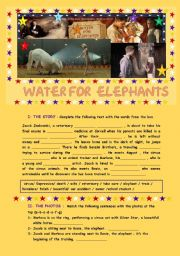 English Worksheet: Water For Elephants (2011) A film study