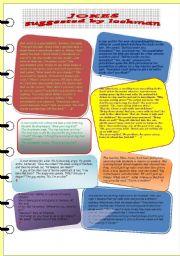 English Worksheet: Jokes