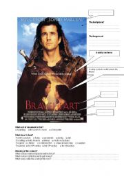 English Worksheets: Braveheart Poster