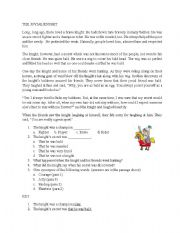 English Worksheets: The Jovial Knight