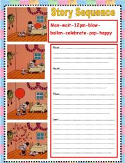 worksheet: story sequence