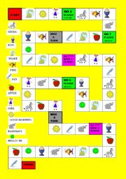 Get kids writing nouns with this free noun game - The Measured Mom