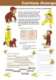 English Worksheet: Curious George on Youtube