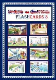 ENGLISH AND AMERICAN FLASHCARDS 3