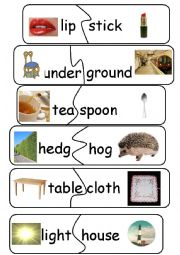 Compound Words/Game - set 8