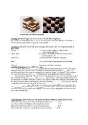 English Worksheet: chocolate