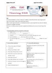 Notting Hill Movie