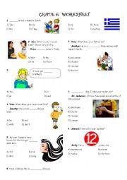 6th Grades General Revision