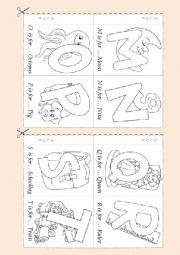 Alphabet  Booklet 2