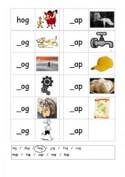 English worksheets: cvc worksheets