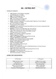 English Worksheet: WAYS OF COOKING