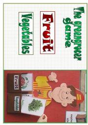 English Worksheet: The greengrocer game (Part I)