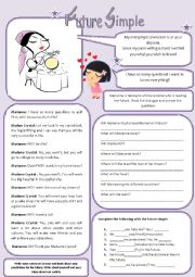English Worksheet: Future Simple