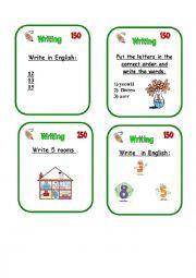 English Worksheet: GAME