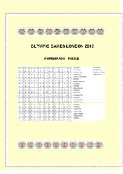 English Worksheet: Olympic Games London 2012