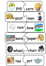 Compound Words / Game - set 1