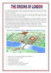 The origins of London