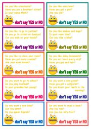 don´t say yes&no