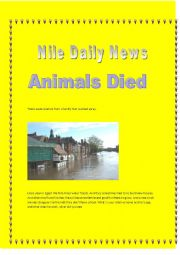 English Worksheets: The nile