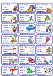 Odd one out cards set 1