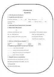 English worksheet: Top Notch Final Wxam
