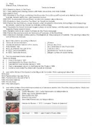English Worksheets: literature