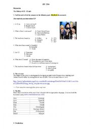English Worksheets: Song �One� by U2