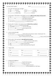 Worksheets Grade 6 English Worksheets grade six english worksheets templates and classifying worksheet 1 for grades 5 6