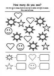English worksheets: the Numbers worksheets, page 218